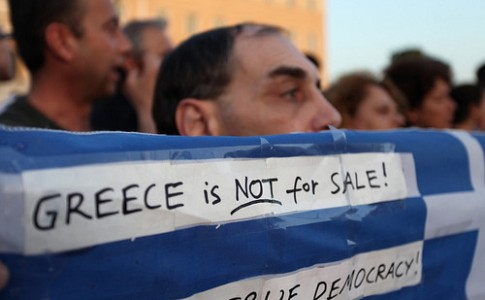 Indignant Greeks 25 May 2011