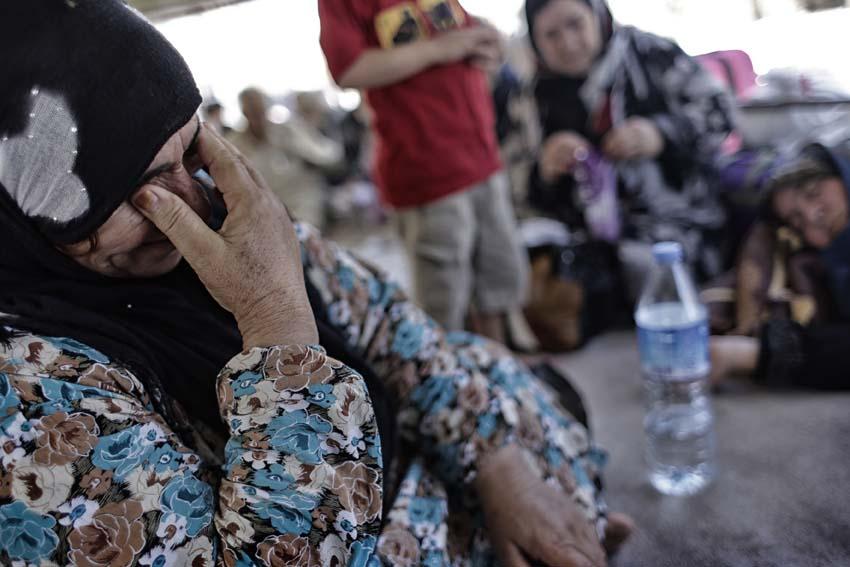bassa Nusaybin Refugees Stranges