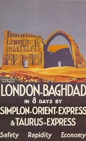 London Baghdad in 8 days