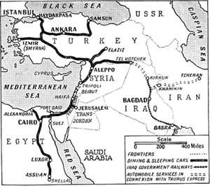 The Taurus Express Railway