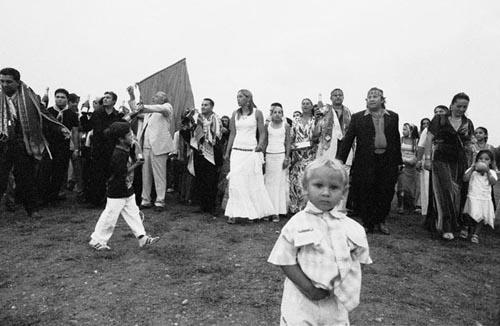 la marcia dei rom