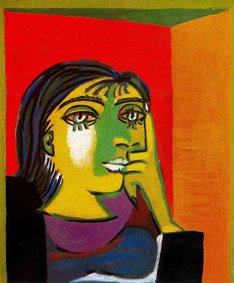Pablo Picasso, Portrait of Dora Maar, 1937. Musée National Picasso, Paris