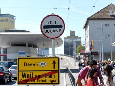 Zoll Friedlingen   foto pino covino