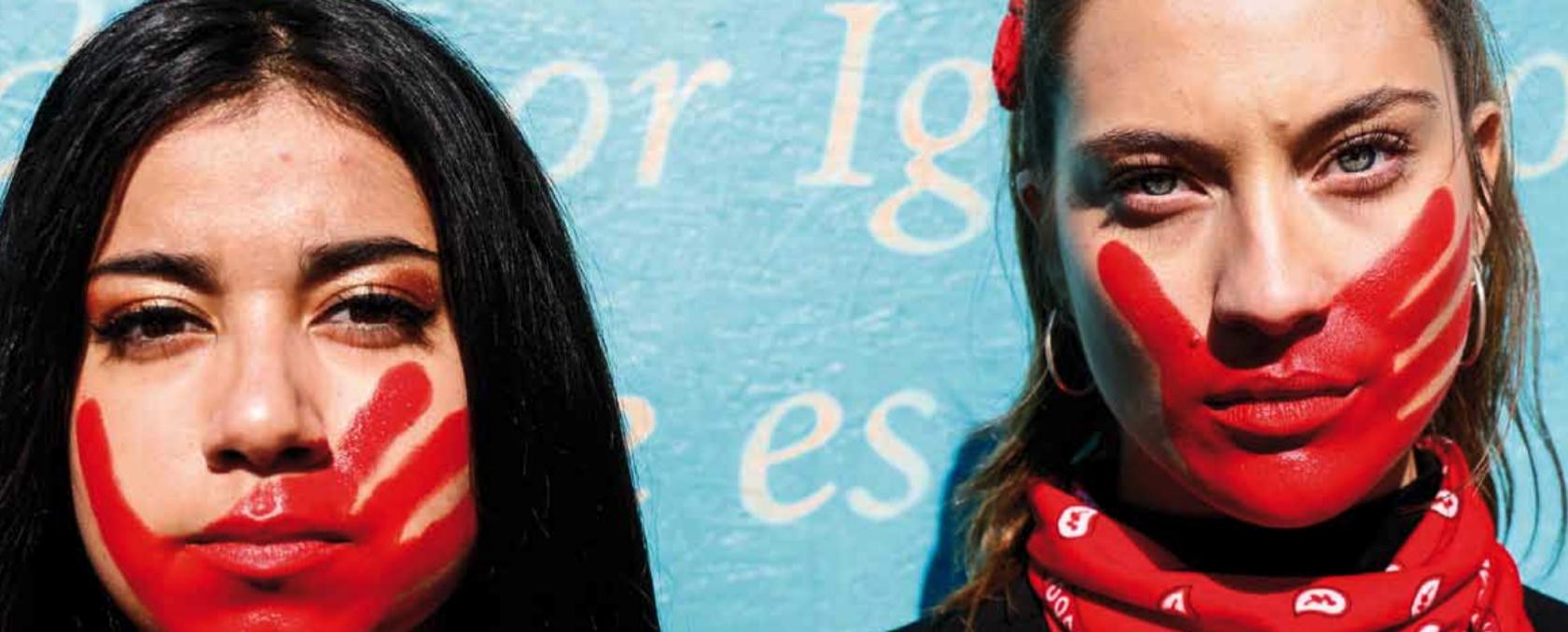 Le femministe cilene si ribellano contro le molestie sessuali