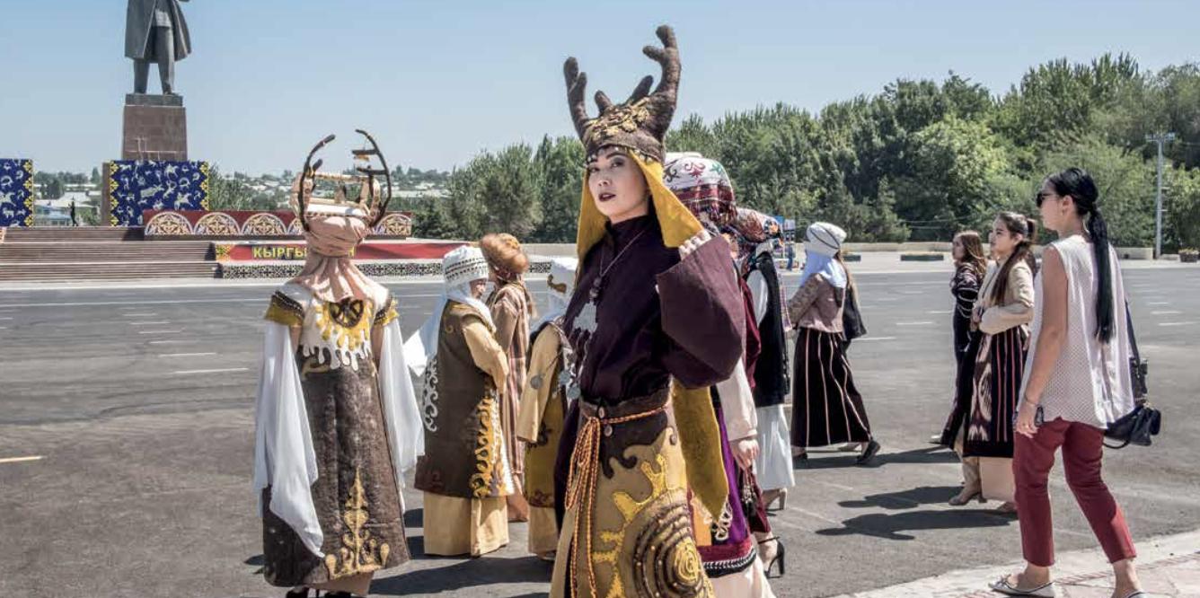 A zonzo nella steppa del Kirghizistan dove l'URSS non è altro che un ricordo